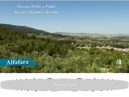 ALFAFARA. Alicante, pueblo a pueblo