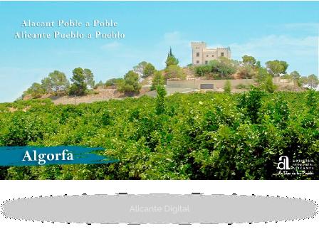 ALGORFA. Alicante pueblo a pueblo