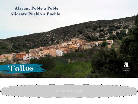 TOLLOS. Alicante, pueblo a pueblo