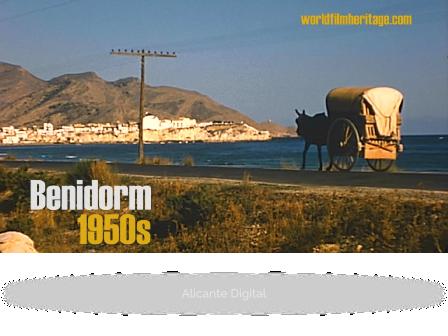 Benidorm, Alicante, Calpe, Guadalest (1950s Costa Blanca, Spain)
