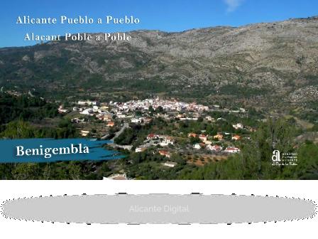 BENIGEMBLA. Alicante pueblo a pueblo