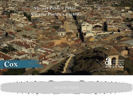 COX. Alicante pueblo a pueblo.
